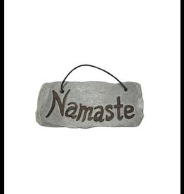 Ganesh Himal Namaste Slate Carving