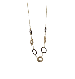 Sasha Association for Crafts Producers Leather and Jute Wrap Necklace