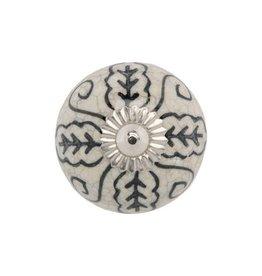 Mela Artisans Film Noir Ceramic Pull Knob