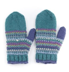 Laundromat Piper Blue Mittens