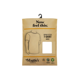 Maggie's Organics Unisex Cotton Tee Shirt