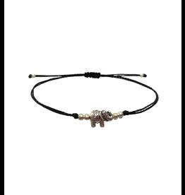 Lucia's Imports Elephant Charm Bracelet