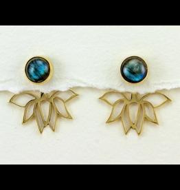 dZi Inc. Lotus Dream Earrings