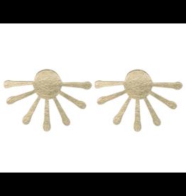 Just Trade Sunburst Stud Earrings