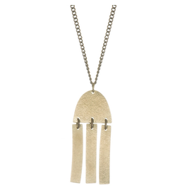Just Trade Fringe Rounded Necklace