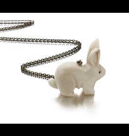 Just Trade Tagua Rabbit Pendant