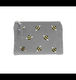 Just Trade Bumblebee Coin Purse (Gray)
