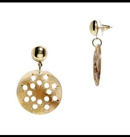 Mela Artisans Light Ankara Lace Earrings