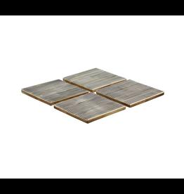 Mela Artisans Pinstripe Coaster (Set of 4)