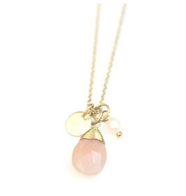 Fair Anita Pink Charm Necklace