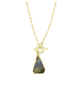 Fair Anita Labradorite Pendant Necklace