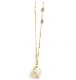 Fair Anita Serenity Asymmetrical Necklace