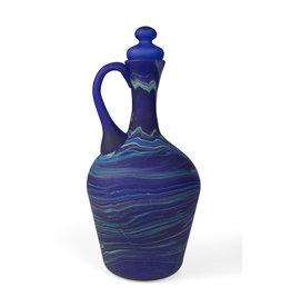 Hebron Glass Phoenician Glass Decanter