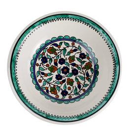 Hebron Glass Joyful Garden Bowl