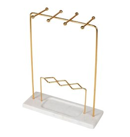 Tara Projects Marble Jewelry Stand