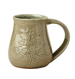 Rajana Association Leaf And Branch Mug