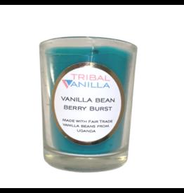 Tribal Vanilla Small Berry Burst Candle