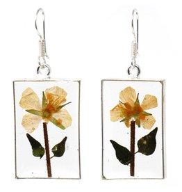 Artisana Pressed Flower Earrings