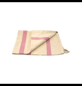 New SADLE, KTE Pink Striped Tea Towel