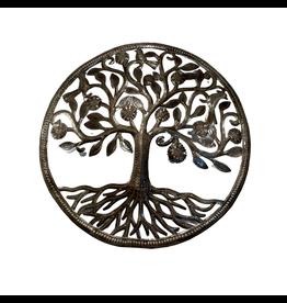 Comite de Artisanal Giving Tree Metal Wall Hanging