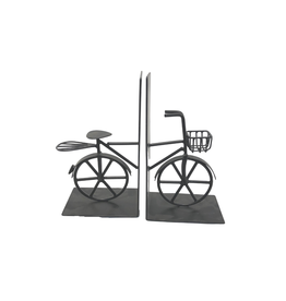 Noah's Ark Black Bicycle Bookends