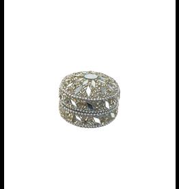 Asha Handicrafts Silver Jewellery Box