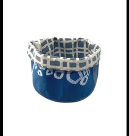 Global Mamas Marina Indigo Basket (Small)