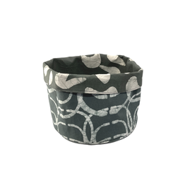 Global Mamas Charcoal Orbit Basket (Medium)