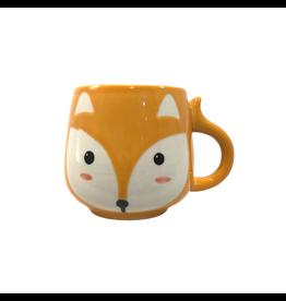 Mai Vietnamese Handicrafts Small Fox Ceramic Mug