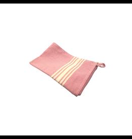 New SADLE, KTE White Striped Tea Towel
