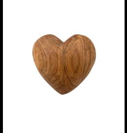 Maisha Large Olive Wood Heart