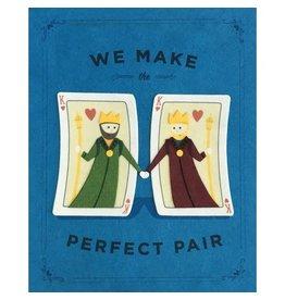 Good Paper Perfect Pair Kings Card