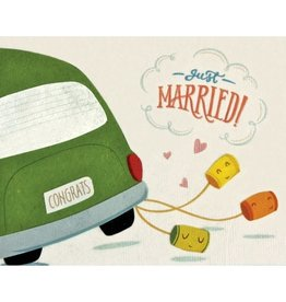 Good Paper Just Married Card