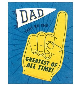 Good Paper Greatest Dad Card