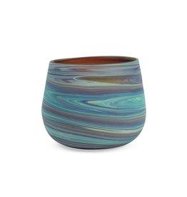 Hebron Glass Phoenician Glass Candleholder