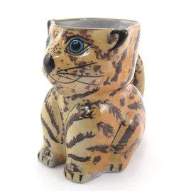 Lucia's Imports Ceramic Cat Mug