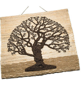 Sasha Association for Crafts Producers Jute Tree of Life Wall Hanging