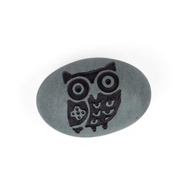 Tara Projects Stone Owl Paperweight