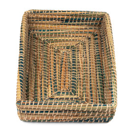 Dhaka Handicrafts Kaisa Grass Bread Basket