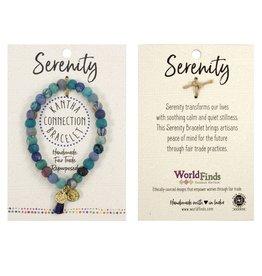Just Trade Kantha Serenity Bracelet