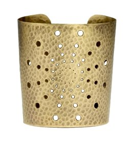 Mela Artisans Sunburst Cuff Bracelet