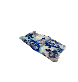 Noah's Ark Blue Tones Floral Scarf