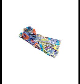 Noah's Ark Scarf Multicolor Paisley Viscose