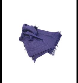 Craft Resource Center Dark Blue Viscose Scarf
