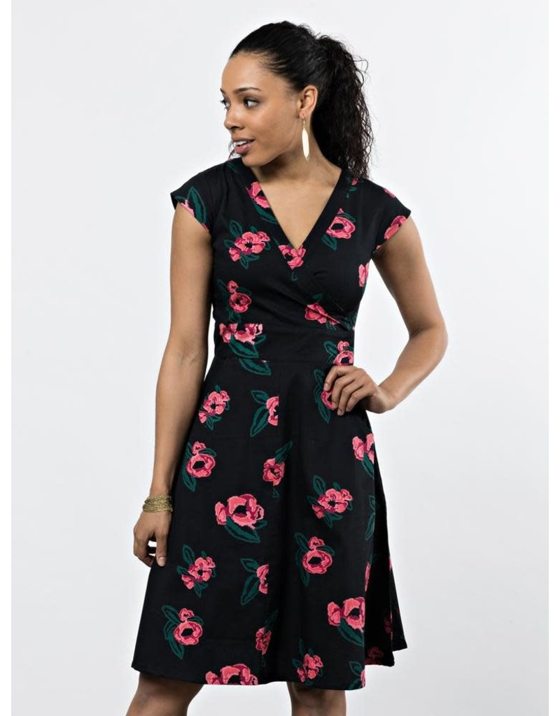 Mata Traders Pixel Rose Dress