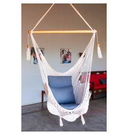 Women of the Cloud Forest Cream Hammock Chair