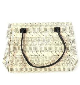 Fair Anita White Diamond Bag