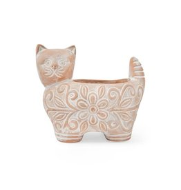 Corr the Jute Works Large Kitty Planter