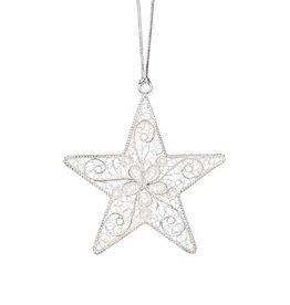 Pekerti Nusantara Silver Star Ornament