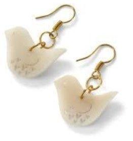 Sapia Dove Tagua Earrings